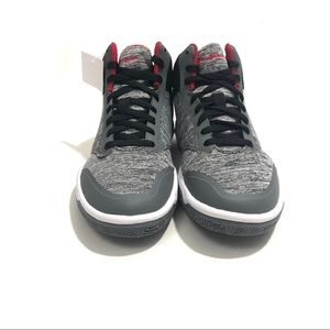 Champion Shoes - CHAMPION Boy's 2 Grey Black High Top Sneakers NWT